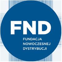 Logo Fundacji Nowoczesnej Dystrybucji